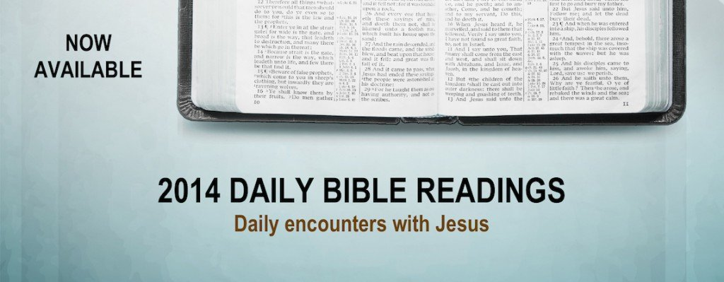 The Good Shepherd Daily Bible Readings for 2014