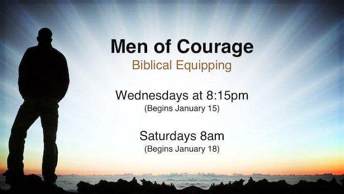 Men of Courage Training