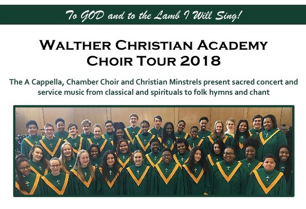 Walther Academy Choir Concert - Good Shepherd Lutheran