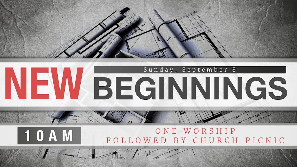 New Beginnings Worship - Good Shepherd Lutheran Church of