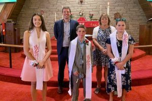 Picture of the 2020 Good Shepherd Confirmation Class