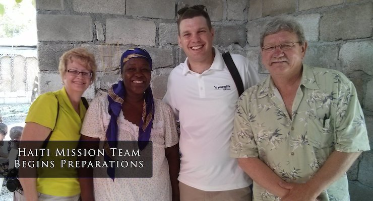 Haiti Mission Team from Good Shepherd Old Bridge Begins Preparations